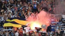 İsviçre'de Fenerbahçe bayrağını yaktılar