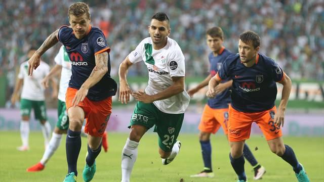 Bursaspor 0 - 2 Medipol Başakşehir