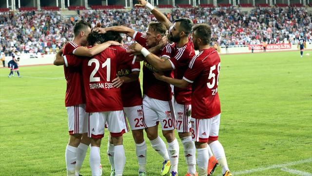 Sivasspor 6 - 0 Mersin İdmanyurdu