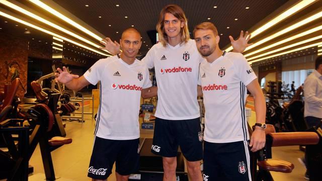 Caner Erkin, Gökhan İnler ve Atınç Nukan Beşiktaş'ta
