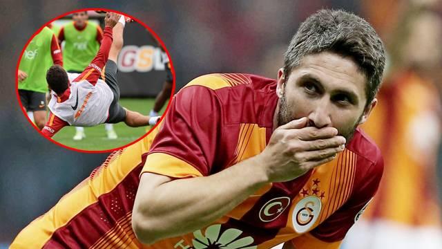Sabri Sarıoğlu'nun rövaşata golü sosyal medyayı salladı
