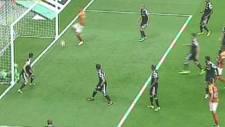 İşte Arena'daki ilk derbi golü