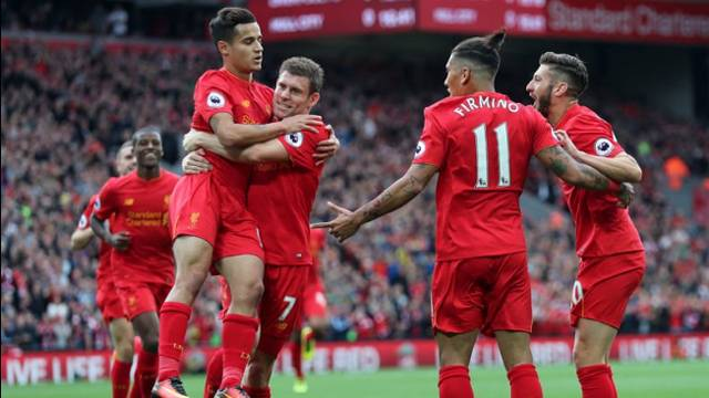 Liverpool 5 - 1 Hull City