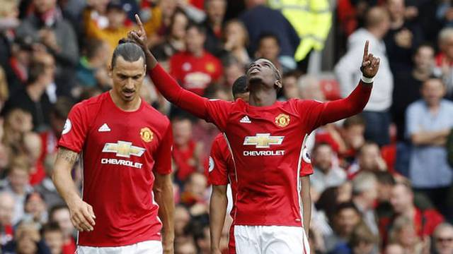 Manchester United 4 - 1 Leicester City