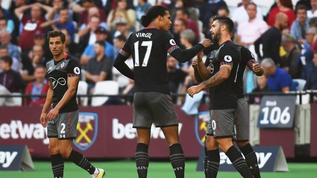 West Ham 0 - 3 Southampton
