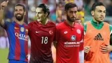 Türk futbolcular yine Avrupa'yı salladı