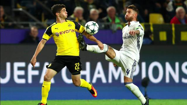 Borussia Dortmund 2 - 2 Real Madrid