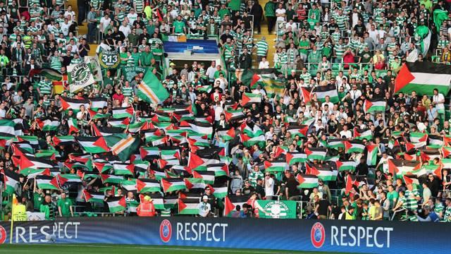 UEFA'dan Celtic'e Filistin bayrağı cezası