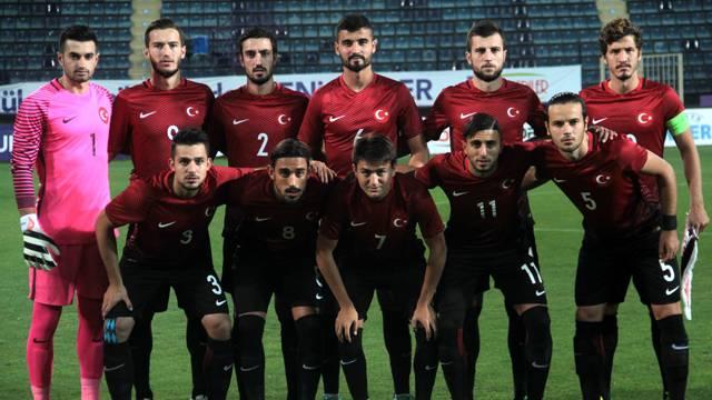 Ümit Milli Futbol Takımı'nın kadrosu açıklandı