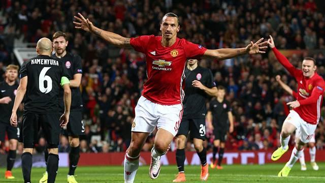 Manchester United 1 - 0    Zorya Luhansk