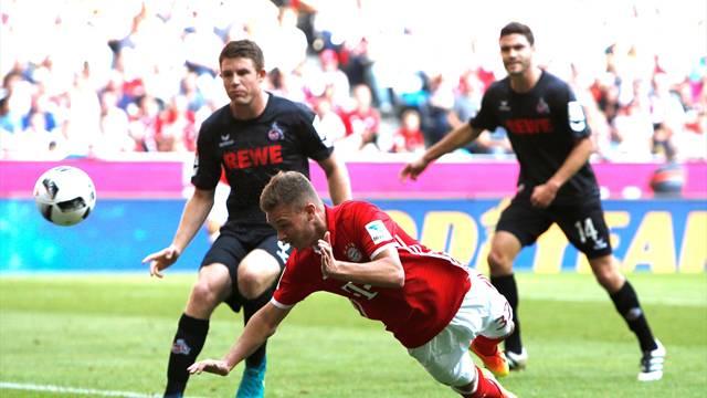 Bayern Münih 1 - 1 Köln