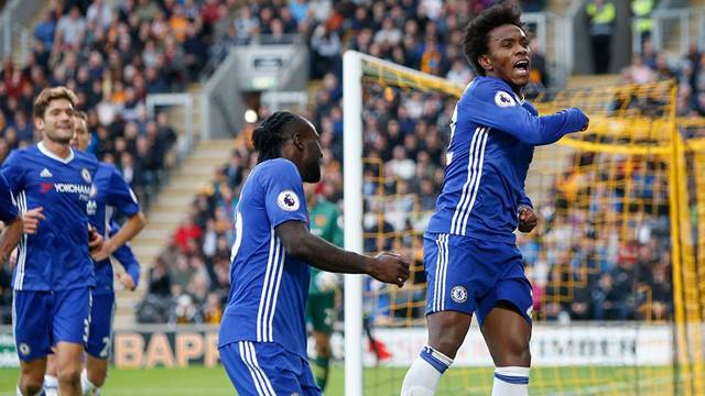 Hull City 0 - 2 Chelsea