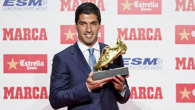Luis Suarez 'Altın Ayakkabı'sına kavuştu
