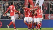 Bayern Münih 2 - 0 Borussia Mönchengladbach
