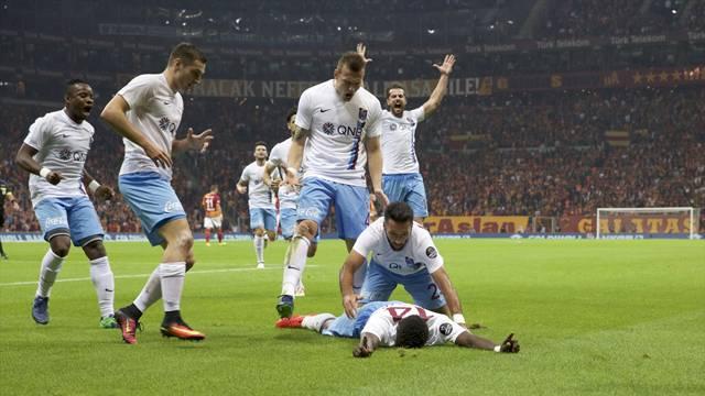 Galatasaray 0 - 1 Trabzonspor