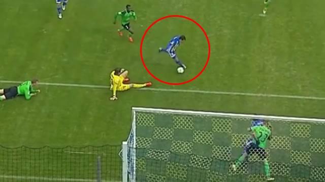 Georgi Merebashvili öyle bir gol kaçırdı ki...