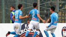 Crotone 1 - 2 Napoli