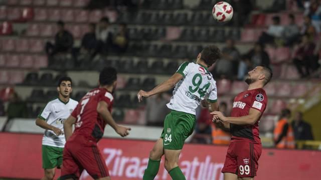 Gaziantepspor 1 - 0 Düzyurtspor