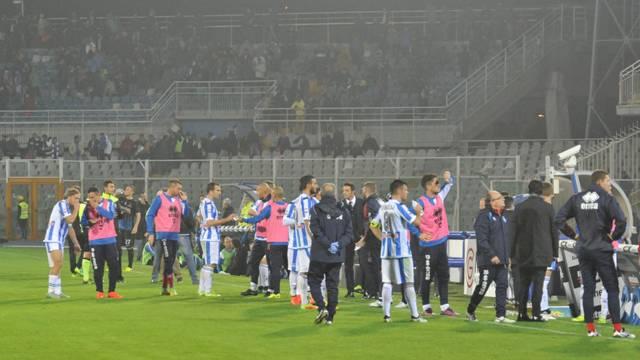 İtalya'daki deprem maçı durdurdu