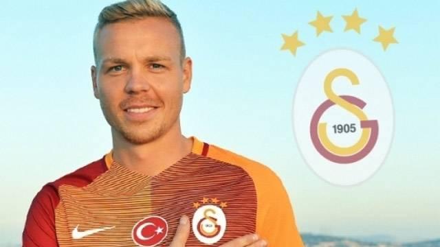 Galatasaray'dan Sigthorsson'a büyük rest