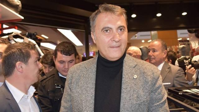 Beşiktaş Başkanı Fikret Orman'dan Fenerium'a ziyaret