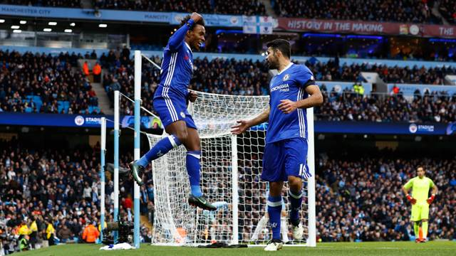 Manchester City 1 - 3 Chelsea