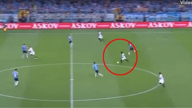 Juan Cazares'den muhteşem gol!
