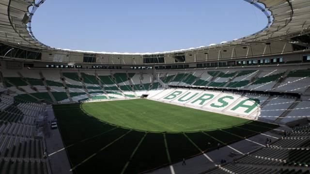 Bursaspor'a büyük müjde!