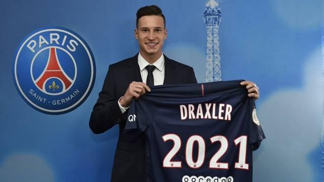 Julian Draxler resmen PSG'de