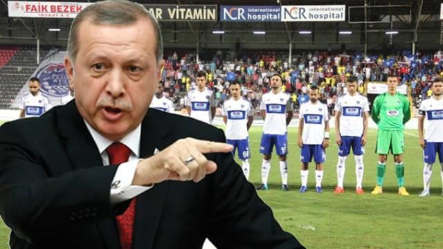 Cumhurbaşkanı Tayyip Erdoğan'ın ziyareti Gaziantep'teki maçı erteletti