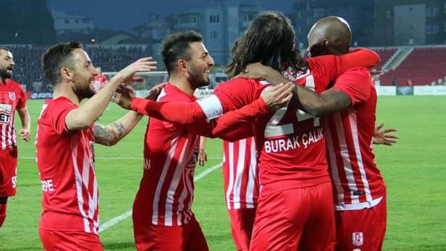 Balıkesirspor 5 - 0 Bandırmaspor