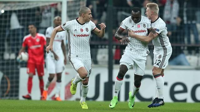 Beşiktaş 2 - 1 Hapoel Beer-Sheva