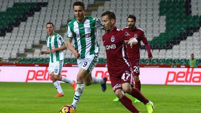 Atiker Konyaspor 1 - 1 Trabzonspor