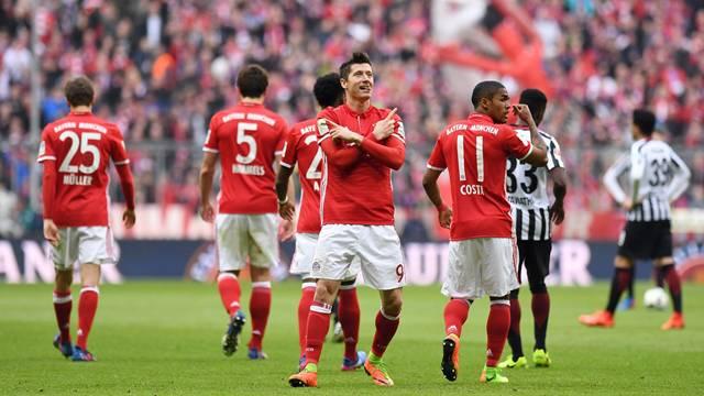 Bayern Münih 3 - 0 Eintracht Frankfurt