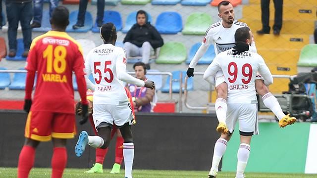 Kayserispor 3 - 4 Gaziantepspor