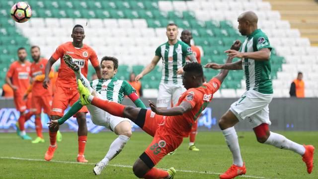 Bursaspor 1 - 3 Aytemiz Alanyaspor