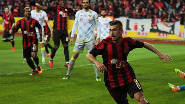 Eskişehirspor 4 - 0 Göztepe