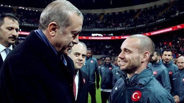 Recep Tayyip Erdoğan'dan Sneijder'e övgü!