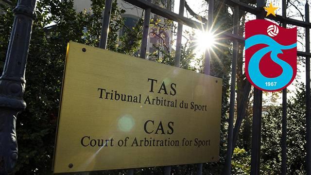 CAS, Trabzonspor'un itirazını reddetti!