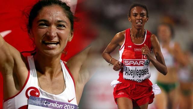 Elvan Abeylegesse ve Gamze Bulut'a doping cezası