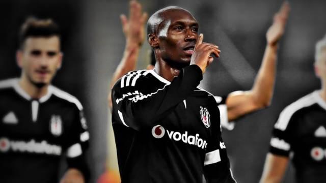 Atiba, Beşiktaş kariyerinde ilki yaşadı