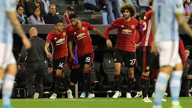 Celta Vigo 0 - 1 Manchester United