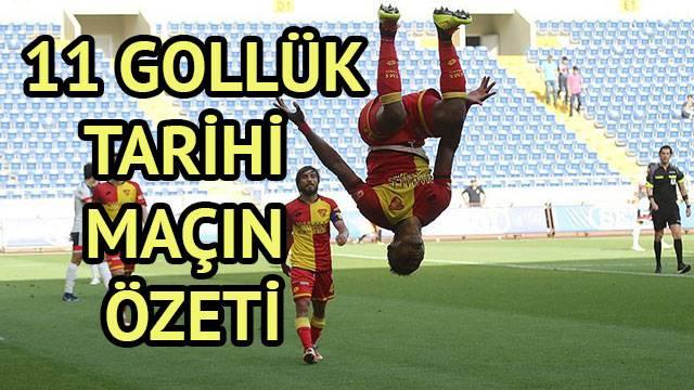Mersin İdmanyurdu - Göztepe maç özeti izle: 11 gollük tarihi maç Mersin İ.Y 5-6 Göztepe