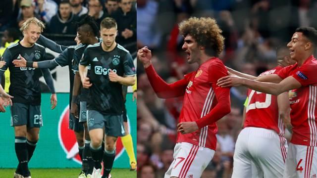 UEFA Avrupa Ligi'nde finalin adı Manchester United - Ajax