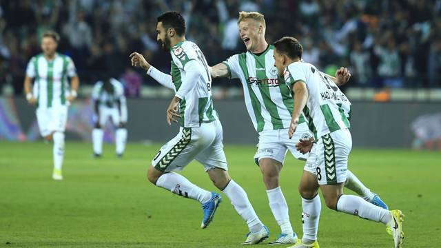 Atiker Konyaspor 2 - 0 Kasımpaşa