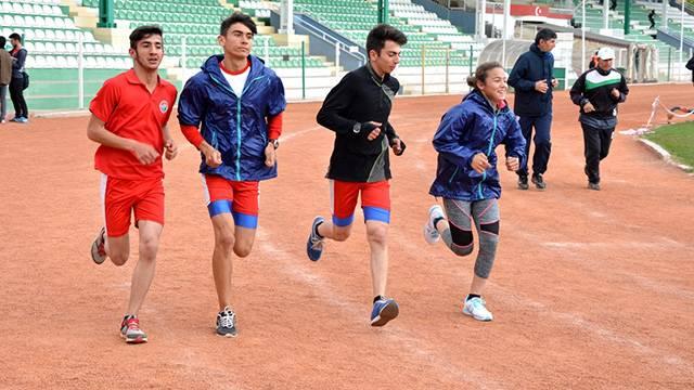 Genç atletizmciler dev kulüplerin radarında