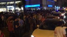 Diyarbekirspor taraftarları Beşiktaşlıları engelledi!