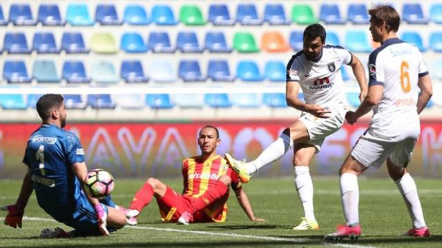 Kayserispor 0 - 1 Medipol Başakşehir