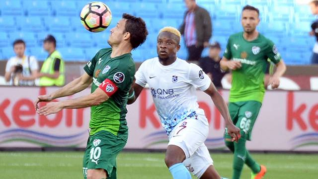 Trabzonspor 1 - 2 Bursaspor