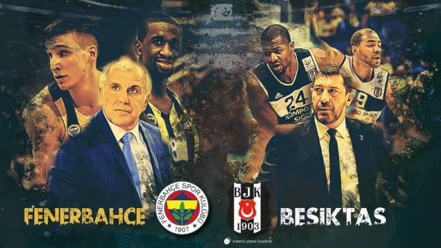 Beşiktaş - Fenerbahçe basket maçı ne zaman, saat kaçta, hangi kanalda? İzle